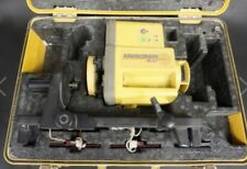 Topcon Marksman RL-50 Rotating Laser Level With Case And Remote. Transit