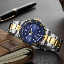 Men's Watch Relojes De Hombre Stainless Steel Luxury Watches Quartz Wristwatch