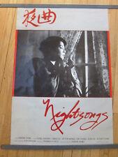 NIGHTSONGS Marva Nabili Iranian exile indie film 1984 original poster 23x35