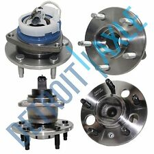 New 4pc Front & Rear Wheel Hub and Bearing Assembly for GM - FWD w/ABS