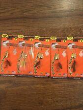 Qty: 5 Joe's Flies Short Striker Size 8 Trout Spinner Assortment #4