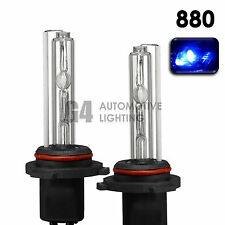 2X NEW HID XENON 880 893 Fog Light Replacement Bulbs AC 35W 10000K Deep Blue