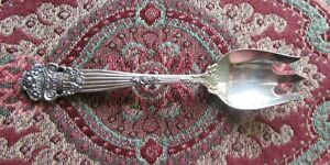 "Georgian Towle Ice Cream Fork 5 1/4"" No MONO Mint! Back Design! Orginal!"