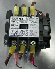 MARS 780 Definite Purpose Contactor 61430 w/ Auxiliary Contactor Used Cut Out