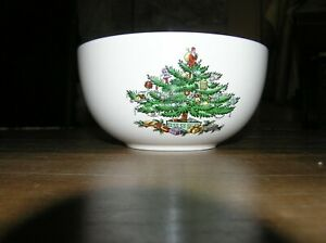 "Spode Christmas Tree Soup Bowl S-3324-A13, 5.50"" Diameter"
