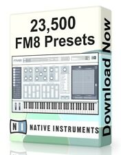23,500 NI FM8 Presets Pack - Ableton Live, Cubase, Logic Pro, FL Studio, Bitwig