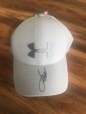 JORDAN SPIETH SIGNED UNDER ARMOUR GOLF HAT PGA AUTOGRAPHED JSA COA RARE! PROOF