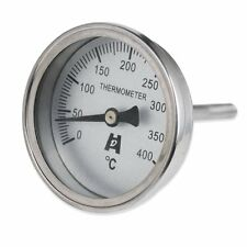 wood  pizza Oven Thermometer Round Face Temperature Range 0 to 400°C