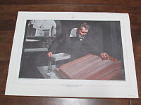 History of Gravity Meter Texas Instruments Inc Art Print 2nd in Series Galilei