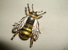 "Brooch--Small 1"" fly type insect pin-darling, handmade"