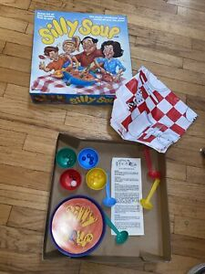 Silly Soup Pressman Game 1991 Motorized Wacky Bowl Moves Family Fun Tested Works