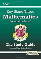 KS3 Maths Study Guide (with online edition) - Foundation: Levels 3-6 (Revision