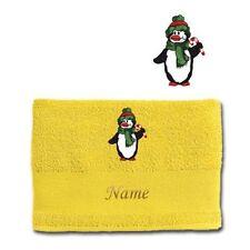 Asciugamani teli da doccia gialla per il bagno