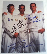 Signed APOLLO 13 Movie Photograph Bill Paxton Tom Hanks Kevin Bacon AUTOGRAPH