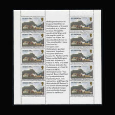 St Helena, Sc #342, MNH, 1980, Sheet of 10, The Briars, BK055F