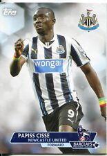 Premier Gold Soccer 13/14 Base Card #60 Papiss Cisse
