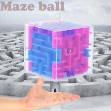 3D Cube Puzzle Maze Toy Hand Game Case Box Fun Brain Game Challenge Fidget Toys.