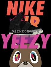 NIKE AIR YEEZY Poster [36 x 24] Brand Promo Advertising Print Wall Poster A