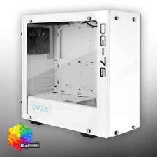 EVGA DG-76 Alpine White, 2 Sides of Tempered Glass, Gaming Case 166-W1-2232-KR