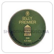 Bisley Premier .177 (4.5mm) ~Tin of 500 pellets for Air Gun Rifle Pistol