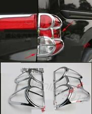 Chrome Tail Rear Light Lamp Cover Trim For Nissan NV200 ABS 2PCS