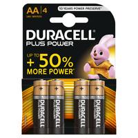 4-PACK DURACELL AA BATTERIES | Plus Power LR6/MN1500 Battery | Alkaline 1.5V