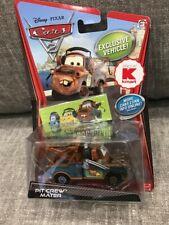 Disney Pixar Cars 2 Pit Crew Mater Kmart Exclusive Die Cast Car NEW w headset