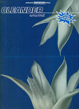 """OLEANDER """"UNWIND"""" GUITAR-TAB/VOCAL MUSIC BOOK RARE OUT OF PRINT BRAND NEW SALE!!"""