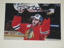 Chicago Blackhawks TREVOR VAN RIEMSDYK Signed 4x6 Photo NHL AUTOGRAPH