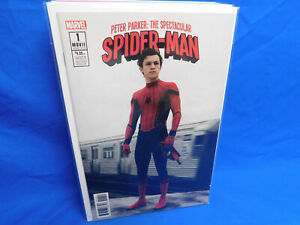 PETER PARKER SPECTACULAR SPIDERMAN 1 1:15 MOVIE PHOTO COVER VARIANT AMAZING