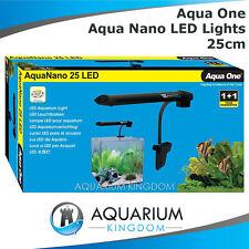 Aqua One LED Lights Aqua Nano 25 Small Aquariums & Fish Tank up to 25cm AquaNano