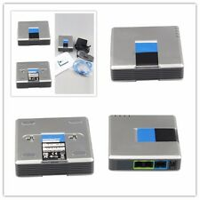 Unlocked Linksys PAP2T-NA VOIP Phone Adapter with 2 FXS Phone ports PAP2 V3 QN