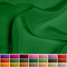 "100% Pure Silk fabric Crepe de Chine - 16 mommy - Multiple Colours - 45"""