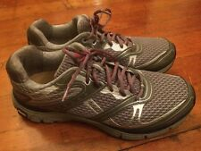 Abeo AEROsystem Mens Rally Gray Red Running Shoes Vibram Outsole Mens 12 Med