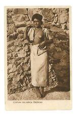 COSTUMI DELL'AFRICA ORIENTALE INDIGENA ERITREA COLONIE D'ITALIA EROTICA 1935