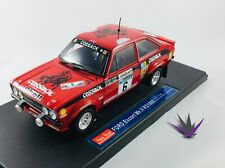Ford Escort Mk.II RS 1800 winner 1976 Lombard Rallye Sunstar 1/18 with box