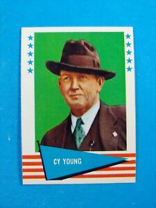 1961 FLEER BASEBALL #153 CY YOUNG   NM-MINT or better