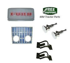 FRONT GRILLE SET & KNOBS FORD 2000 3000 4000 5000 5100 5200 7000 7200 TRACTOR