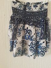 ** Paisley Patterned Bandeau Top- H&M **