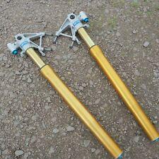 APRILIA MILLE R FACTORY RSV 1000R 1000 2004 OHLINS FRONT FORKS LEGS PAIR