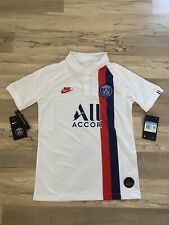 Nike PSG 2019-20 Youth 3rd Soccer Jersey Size Medium [AT2636-102] Paris