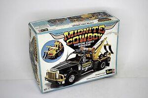 REVELL Midnite Cowboy Custom Chevy Wrecker Model Kit 1:25 Scale Open Box