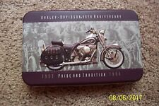 HARLEY DAVIDSON 95th ANNIVERSARY COMMEMORATIVE 2PK PLAYING CARD SET - NEW