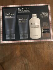 """BEN SHERMAN """"NEW """" 4 piece COMPLETE SHAVE KIT"""