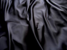 Black Polyester Satin fabric/material