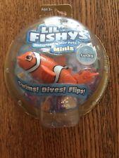 Lil Fishys Motorized Water Pets Lucky Clownfish Nip Minis
