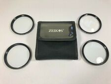 Zeikos Japan Optics 58mm Close-up Lens Filter Kit +1 +2 +4 +10