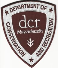 State Massachusetts DCR Conservation and Rec Fish Wildlife Police Sheriff MA