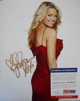 Jessica Simpson VERY SEXY Signed 8x10 Photo Autographed AUTO PSA/DNA COA