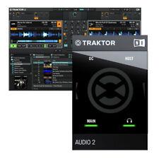 Native Instruments Traktor Audio 2 Mk2 USB 2.0 DJ Audio Interface + Traktor LE